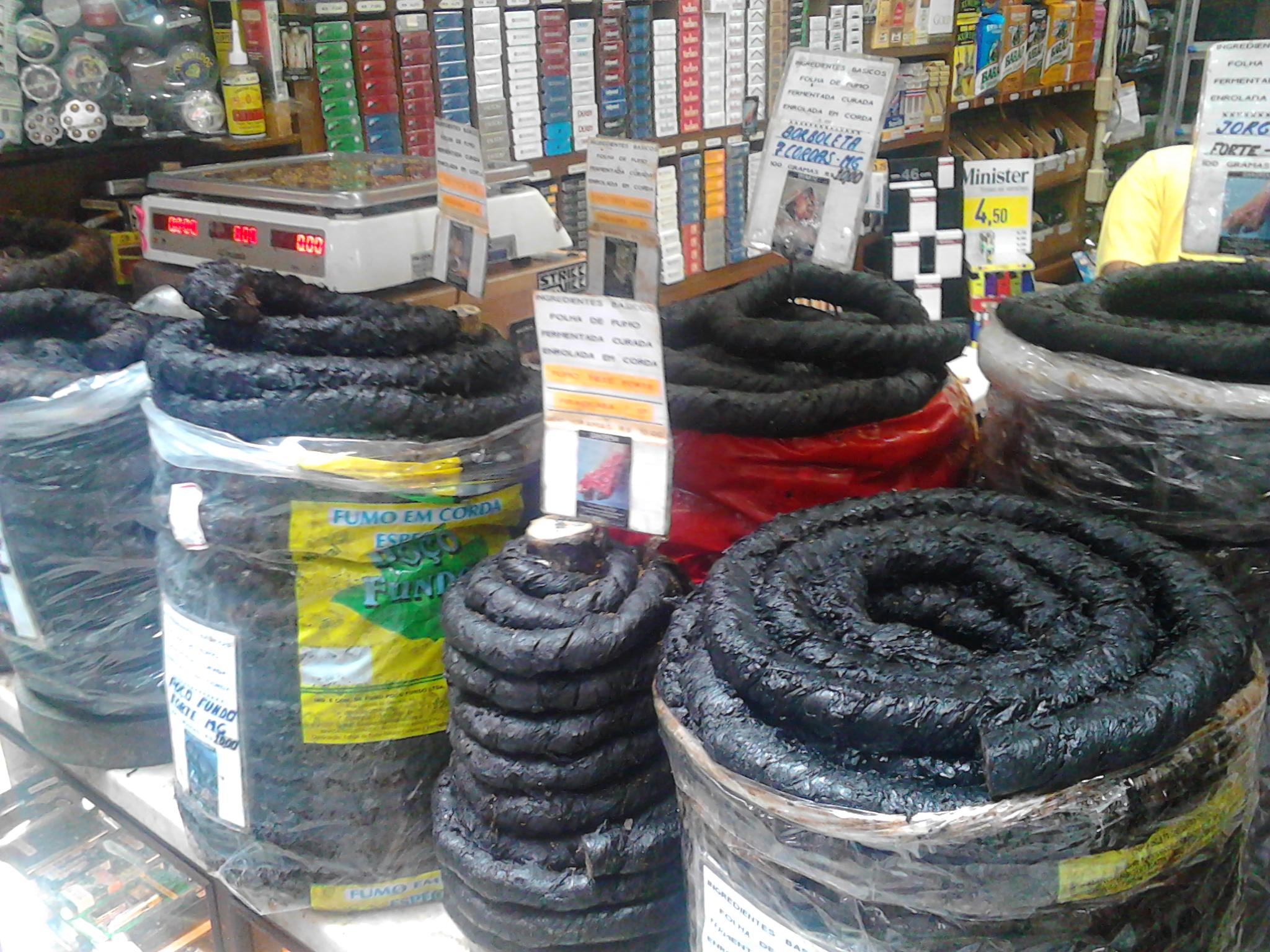 Rotoli di tabacco tradizionale