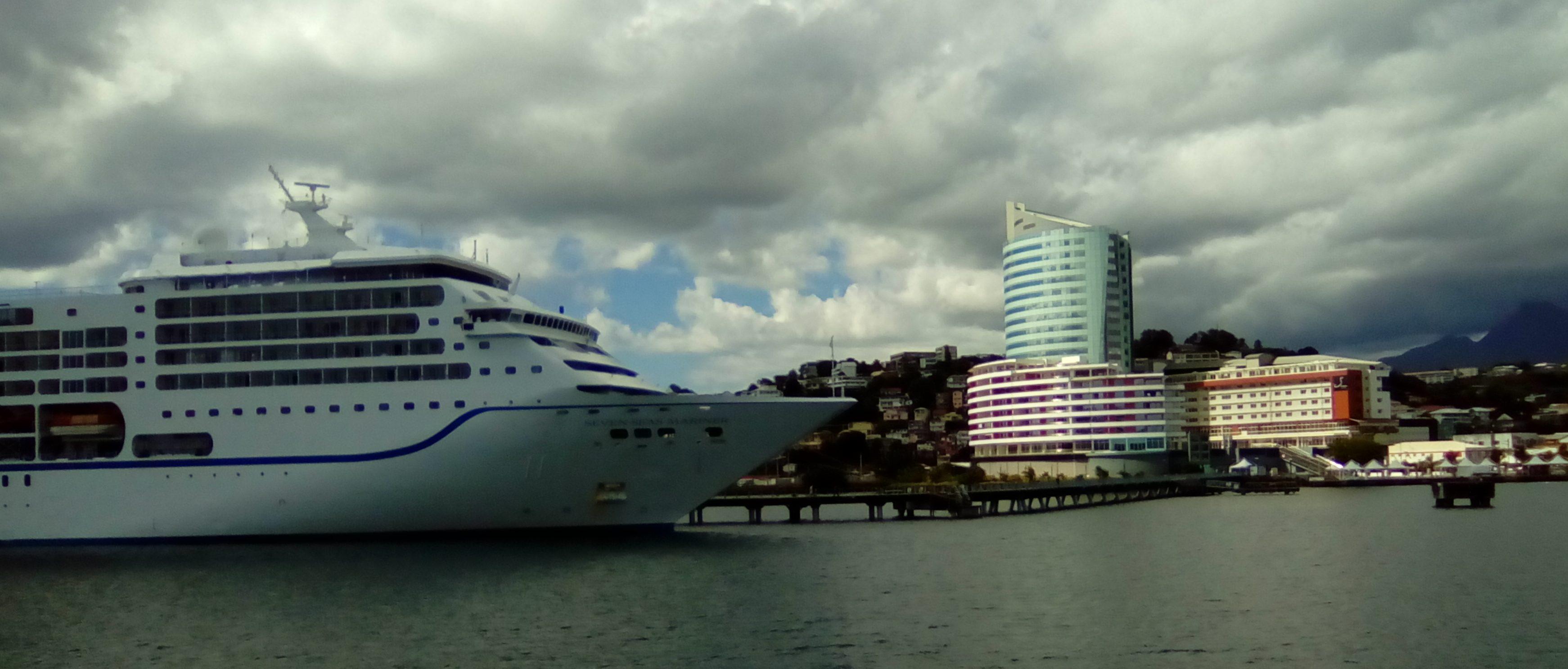 Il porto della Martinica