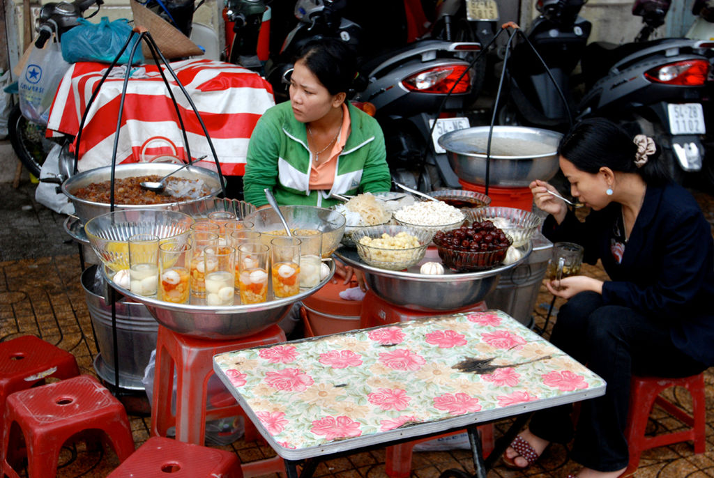 In Vietnam per la cucina
