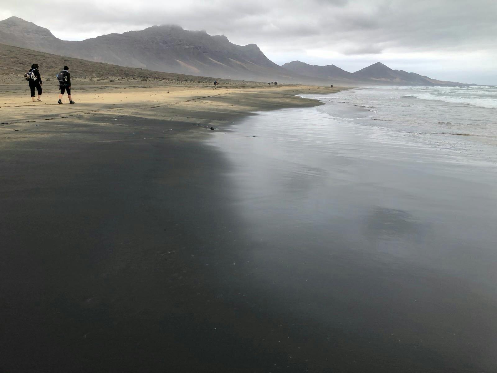 La spiaggia di Cofete
