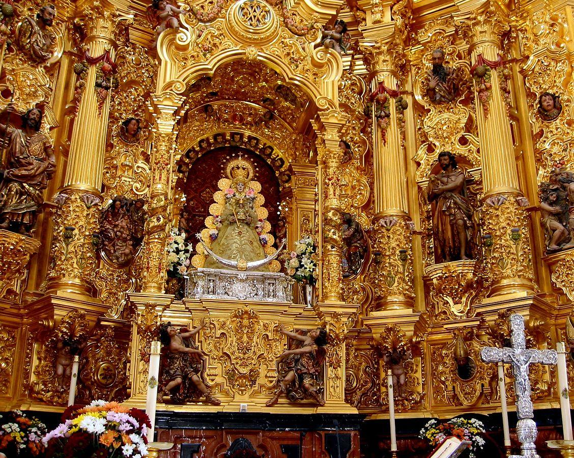 Lo strano pellegrinaggio del Rocio, in Andalusia.