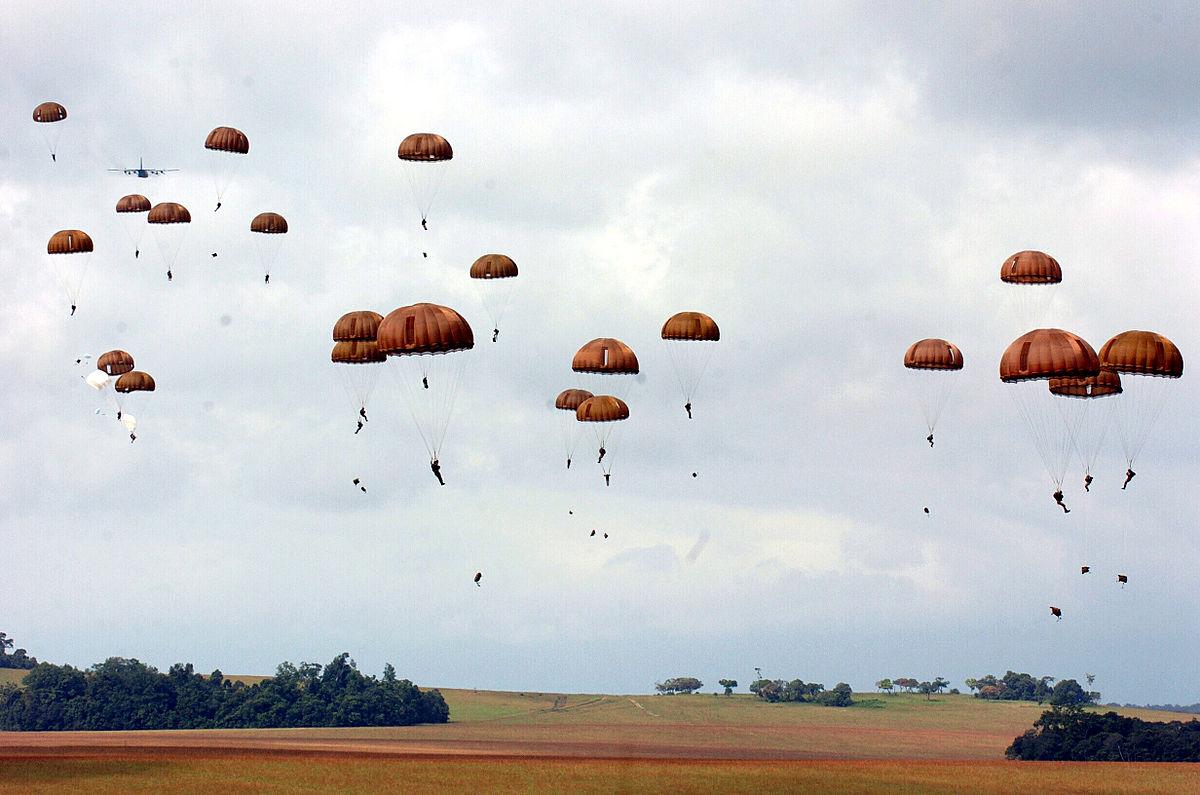 Paracadutisti della Legione Straniera in Gabon