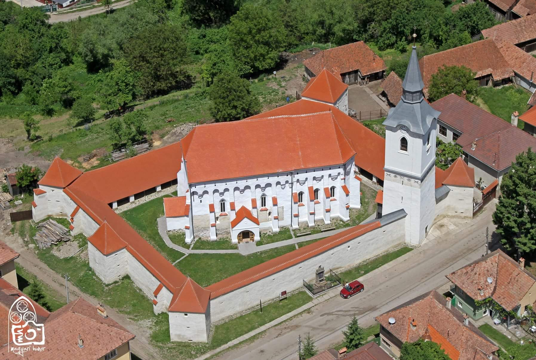 Le chiese fortificate in Romania
