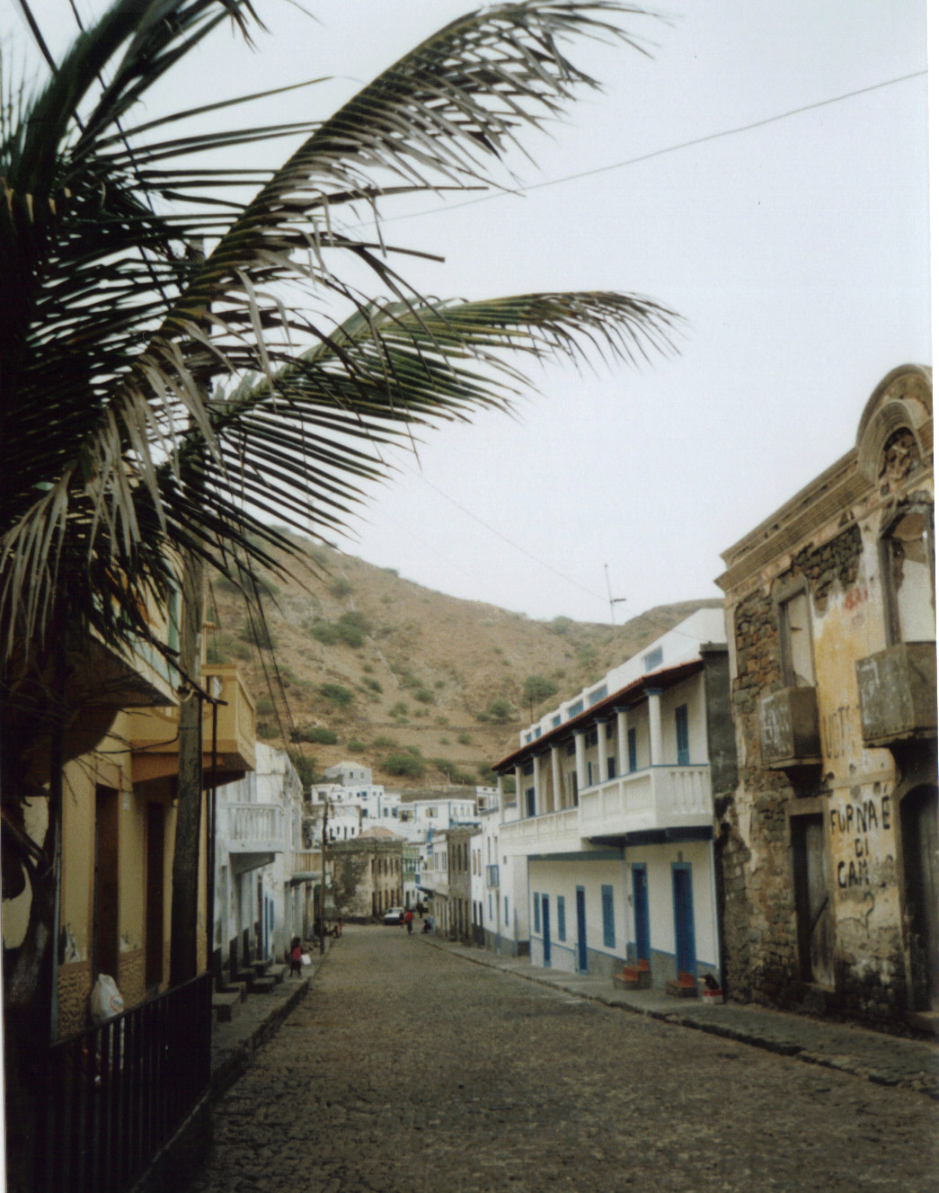 Vomito al vento, fra Fogo e Brava, Capo Verde.