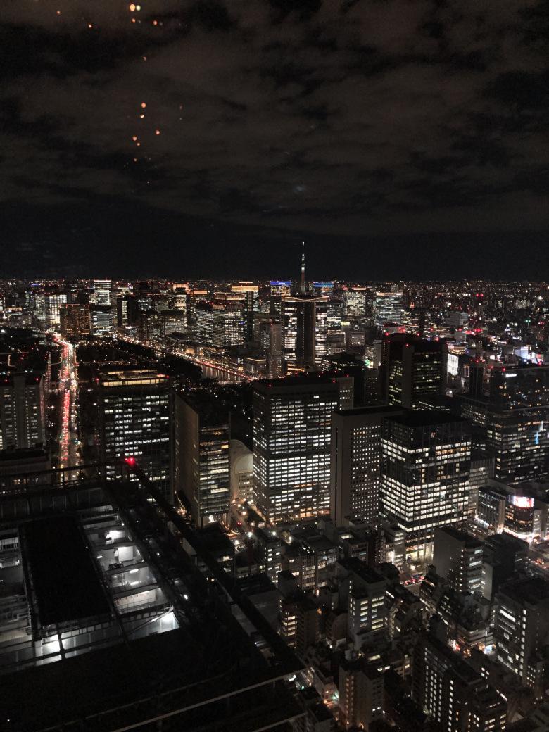 Vivere a Tokyo, di notte.